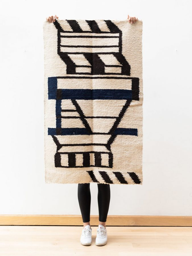 handwoven wool rugs handspun wool yarn contemporary design rugs